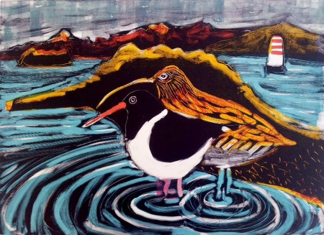 oystercatcher and curlew monotype 1 web