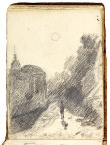 John Constable Sketchbook page