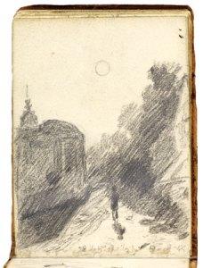 John Constable Sketchbook page